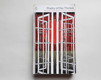 Poetry of the Thirties - 1971 - Penguin Book - Paperback - Second hand books