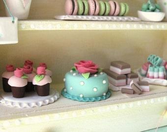 Confiserie minable Cabinet personnaliser construire votre propre maison de poupée Miniature bonbons bonbons Desserts