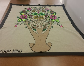 Free Your Mind Knit Blanket