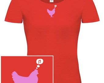 WOMAN T-shirt Chicken