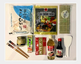 the Sushi Kit by Gourmet Shin  DIY Japanese home cooking