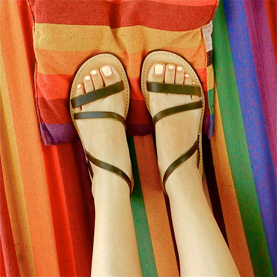Brown sandals Beach BOHO sandals sandals Summer flats Comfortable sandals Leather sandals Greek Wedding sandals sandals wtXvqxzY7