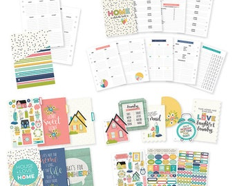 Home A5 Planner Insert Set Carpe Diem Domestic Bliss