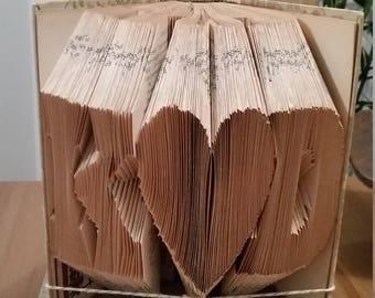 Initials Origami Book