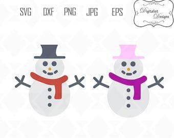 snowman svg, christmas svg bundle, winter svg, merry christmas clipart, holiday clip art, cricut cut files, snowflake svg, reindeer clipart