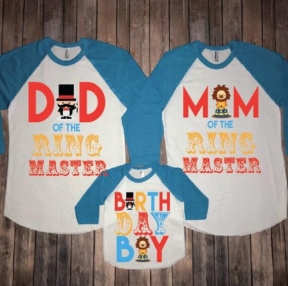 birthday shirt party birthday theme mom of boy Circus birthday birthday dad party circus ringmaster shirt circus ringmaster of shirt FwqAqU4d