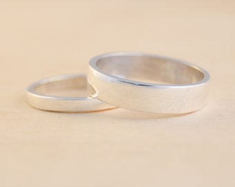 Pair of wedding (or engagement!) bands