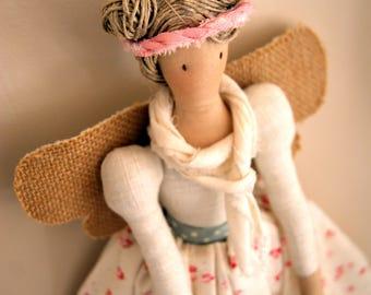 Pdf sewing pattern Fairy Stuffed doll- Fairy toy pattern FREE SHIPPING