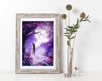 Fairy Digital Art  - Print