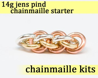 14 gauge Jens Pind Chainmaille Starter 14g