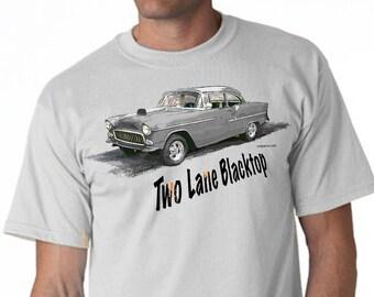 T-Shirt TWO LANE BLACKTOP