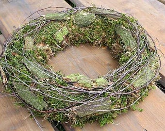 Fri-Collection Dekokranz door wreath Wandkranz wreath Natural wreath Country house 42 cm