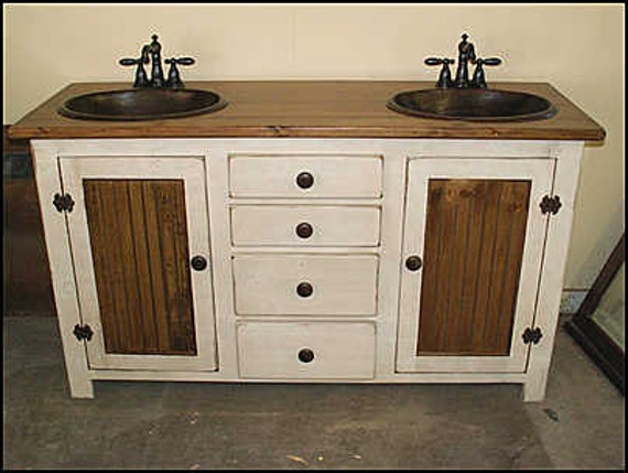 farmhouse sink bathroom vanity rustic farmhouse vanity 60 bathroom vanity 18279