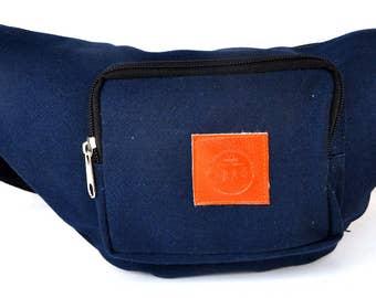 Fanny Pack dark blue  hip bag,from 11.95 now 5.95 USA bum bag,waist bag,belt bag,hip pouch,bags & purses festival bag, concert bag