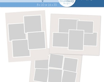 16x20 Framed Storyboard Templates -  Photoshop files for Photographers