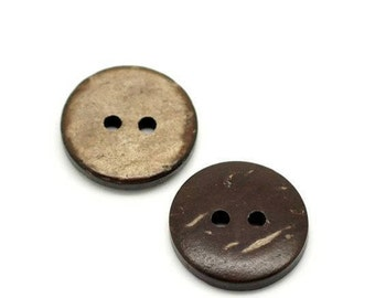 12 buttons coconut 13 mm