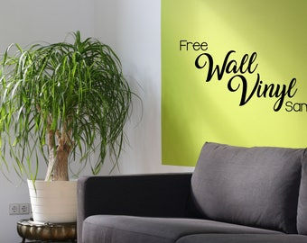 Free Sample of Wall Vinyl