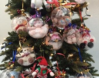 Christmas Tree Decorations and Keepsakes