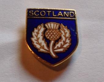 Vintage Scotland Football Badge