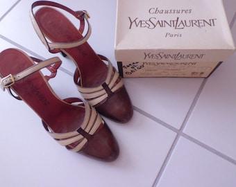 authentic vintage YVES SAINT LAURENT shoes