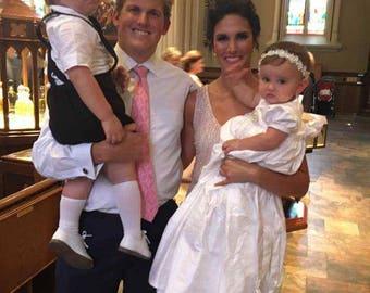 Nicole Christening Gown, Hat, Bib,