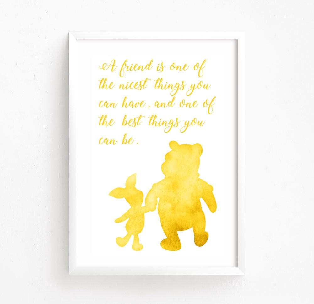 Sale 50% Off Winnie the Pooh Watercolor Printable