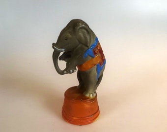 Antique Cast Iron bank of a Circus Elephant