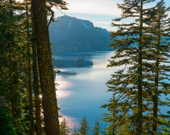 Crater Lake through the Forest