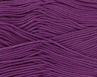 King Cole Giza Mercerised Cotton Double knitting: Crocus