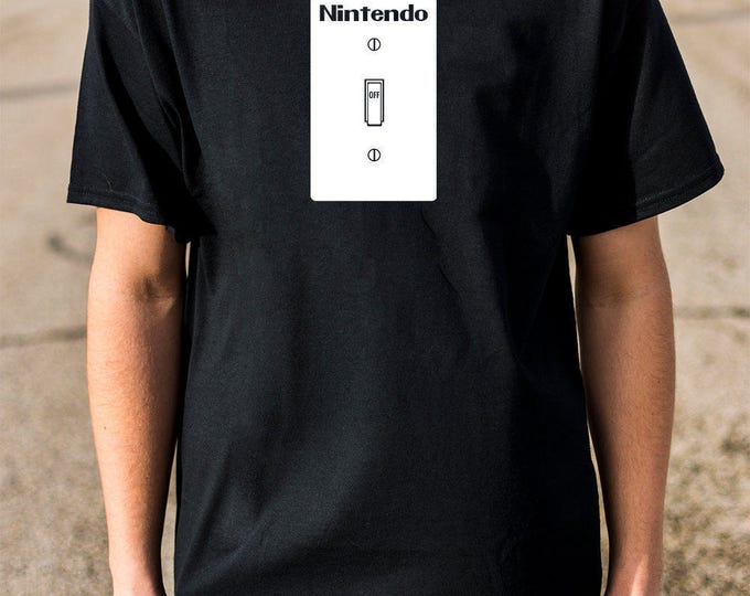 Nintendo Switch 100% Soft Cotton Gamer Parody Shirt