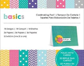 Pebbles Basics - Paper Pad 5.5 x 8.5