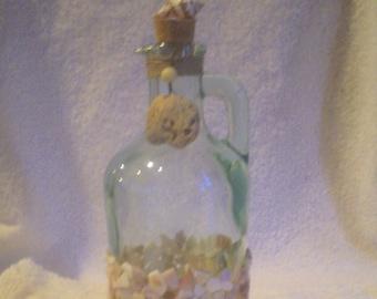 Large Turquiose Condiment Bottle