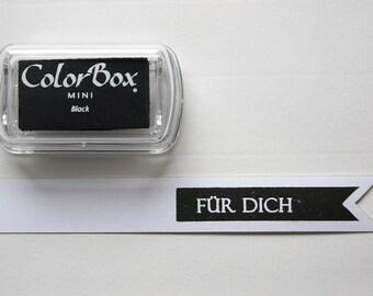 Black - Pigment Inkpad