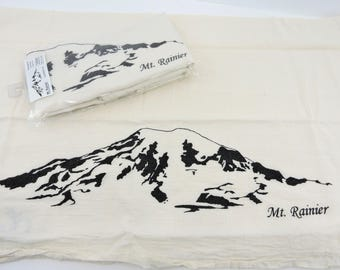 Mt. Rainier Tea Towel