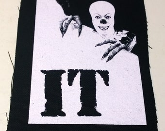 IT patch horror punk goth Free Shipping