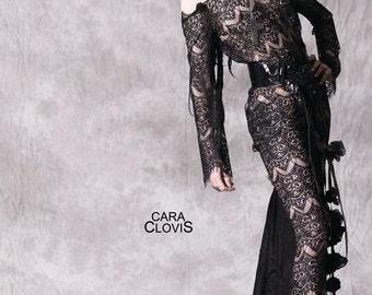 Dark lady dress