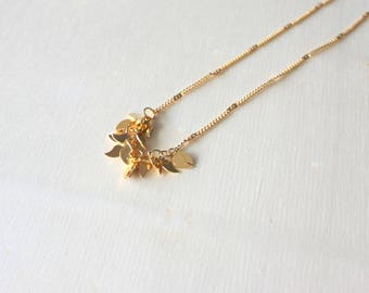 Espelette necklace/ Chili necklace/