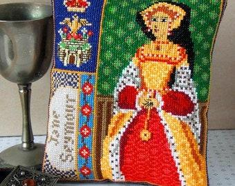 Jane Seymour Triptych Mini Cushion Cross Stitch Kit