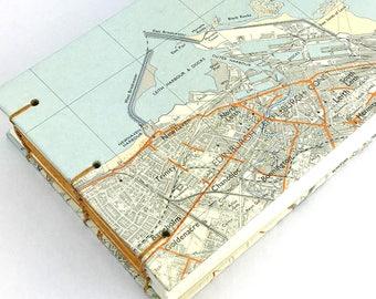 Edinburgh Travel Journal, Scottish Government notebook, landscape notebook, Leith Map Notebook, Musselburgh Travel Notebook