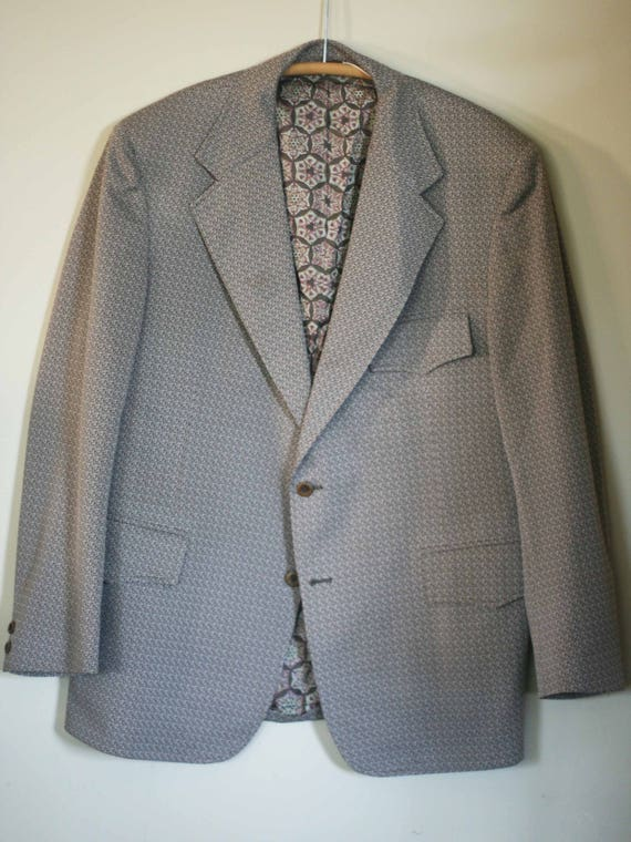 vintage polyester sport coat by brookfield size 40 WjGDuwiVH
