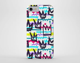 Graffiti Crown Phone Case - iPhone and Samsung Galaxy Cases - Street Art, Spray Paint, Tag, Dripping Paint (All Sizes)
