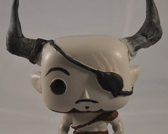 Iron Bull From Dragon Age Inquistion Custom Vinyl Pop Figure