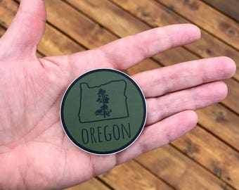 Seasons K Designs Oregon Pine Sticker