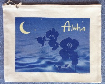 Zipper Bag - Aloha Nights