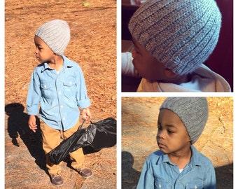 Custom Knit Look Beanie Men/Women/Children