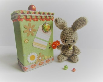 Easter Bunny in its gift box