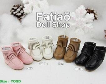 Fatiao - New Dollfie Yo-SD 1/6 BJD Doll Short boots Shoes (Size 4.5cm)