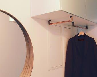 Kleiderstange Für Die Wand kleiderstange etsy