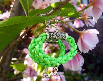 Earrings Sakura The short-lived beauty of life, spring earrings, earrings Japan's cherry blossom season is now underway