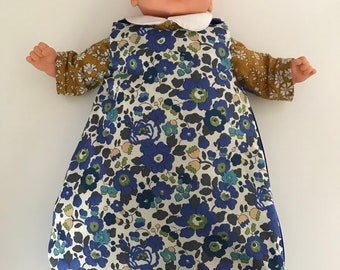 Sleeping bag sleeping bag for doll in Liberty of London to order